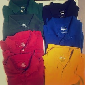 Cherokee and George youth polos